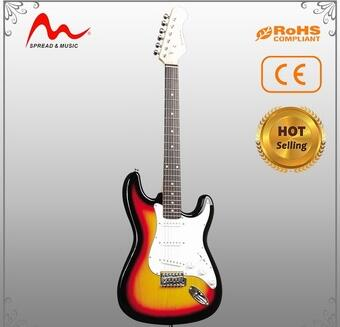 Wholesale high quality all solid wood guitar with best choice