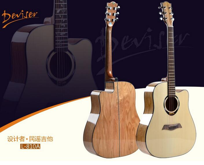 41  Deviser high quality acoustic guitar big discount on October