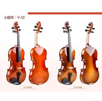 cheap handmade plywood maple violins with accessories