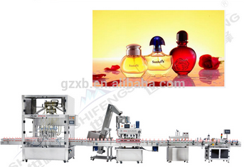 4/6/10/16 heads perfume filling machine/ perfume production line with negative pressure