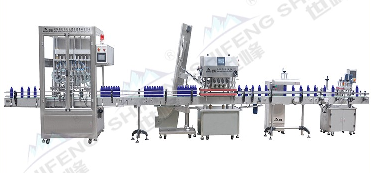 Automatic food produce filling line
