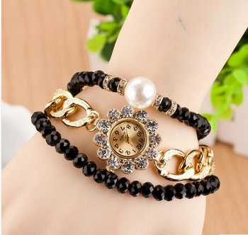 china wholesale pearl wrap watches women vintage ladies watches