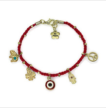 hot sale evil eye bead key chain