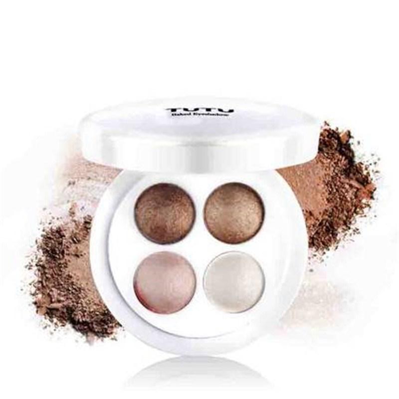 4 Colours Musse Baking Eyeshadow Powder Palette