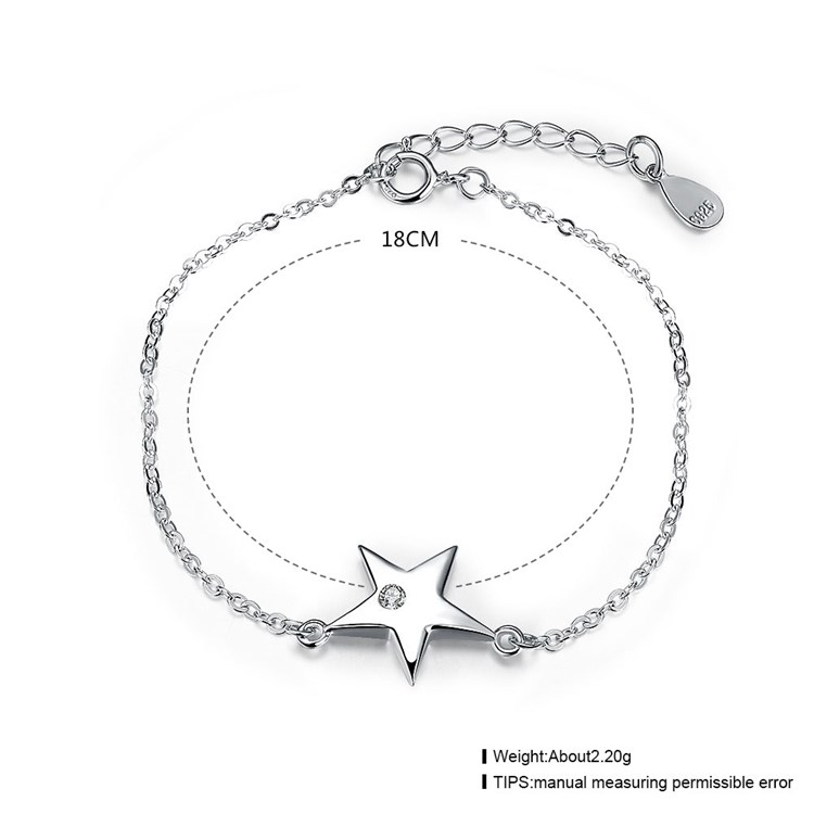hot sale 925 sterling silver jewelry wholesale bracelet