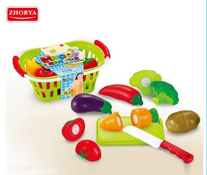 Zhorya Cutting Game Vegetable and Fruit Toys