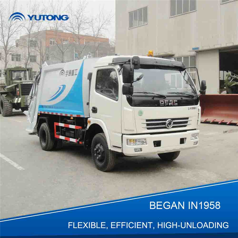 China Hot Sale Small 3 Ton (6 Cbm) Waste Truck