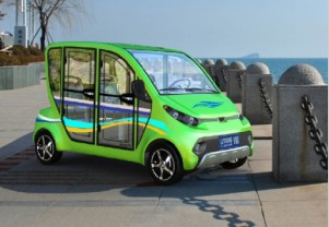4 Passenger Housekeeping Electric Car (LT-S4. HAF)