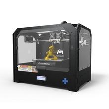EcubMaker 3d Printer Machine FANTASY II Black Enclosed Frame FDM Dual Extruder Printers