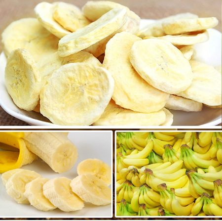Freeze-Dried Banana Slice