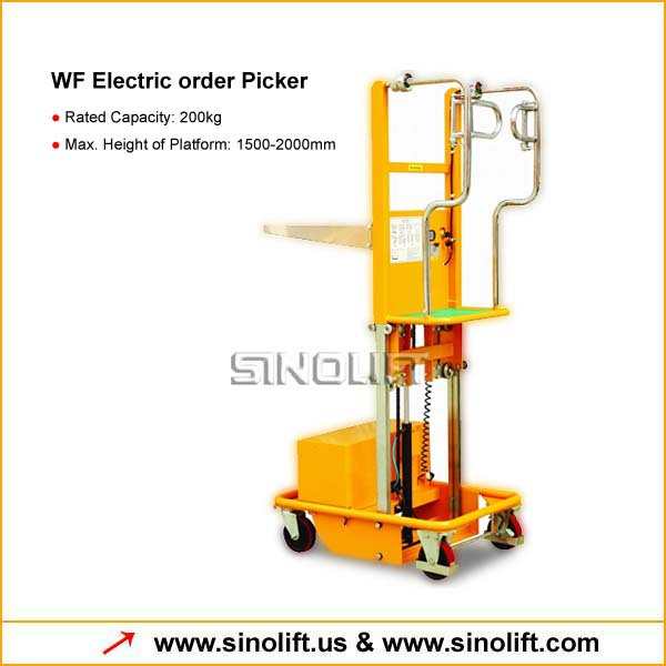 Electric order Picker from Direct Factory