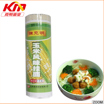 Best selling quick cooking corn flavor dried noodles