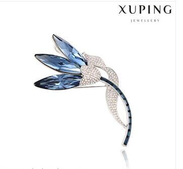 China wholesale brooches with crystals from Swarovski diamond brooch