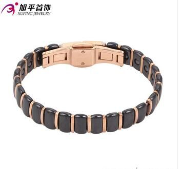 rose gold plated fashion jewelery bangle watch for women