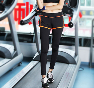 New fashion hottest sale sexy yoga leggings slim yoga pants for women