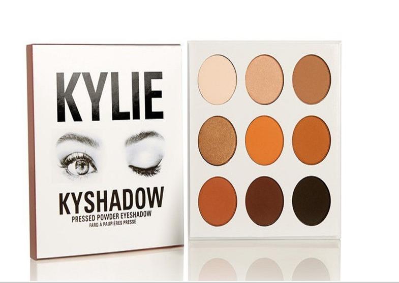 Kylie Jenner Birthday 9 Color Kylie Eye Shadow Cosmetic Glitter Cream Color Eye Shadow