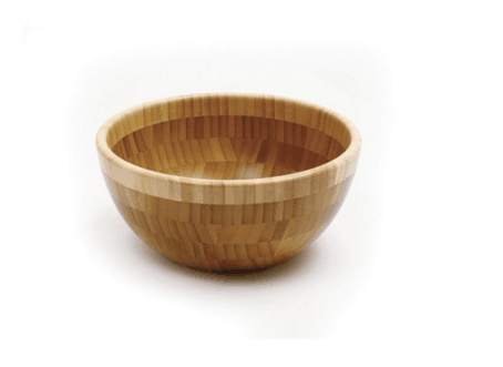 Small Eco-friendly Bamboo Salad Bowls