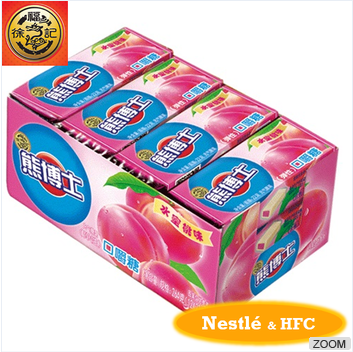 HFC Dr. Bear 6114 chewing/chewy candy peach flavour