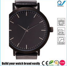 All occasions timepieces matte black brushed steel case japan movement melbourne designed watches the fifth style