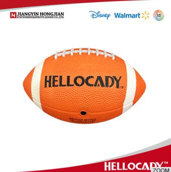 HF001 2017 kids toys rubber American Football