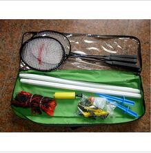 Best Seller 4 Players badminton rackets Set Badminton Racquet Set Outdoor Game Set ( Steel Badminton ,Steel pipe ,Net ect )