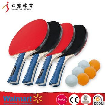 ping pong rackets for table tennis,cheap price red or black best table tennis racket