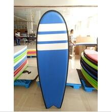 Black EVA bumper rail 5'10'' fish tail surfboard for Kids