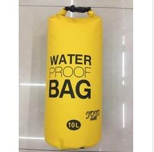 pvc outdoor waterproof bag backpack dry bag with 2 straps
