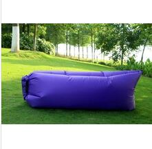 New design high quality outdoor inflatable lazy hangout sleeping air bag with great price