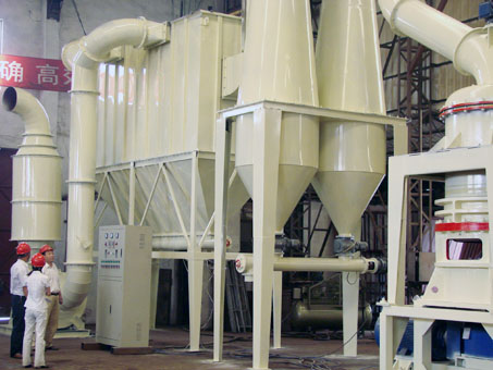 1250mesh HGM Micro Powder Mill with Good performance and Low Noise