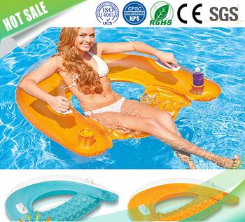 Newest Design Water Play Equipment Inflatable Sit Floa