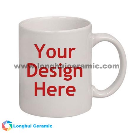 Customized ceramic mug, for your design