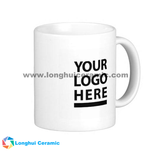 Customized ceramic gift mug, for your design