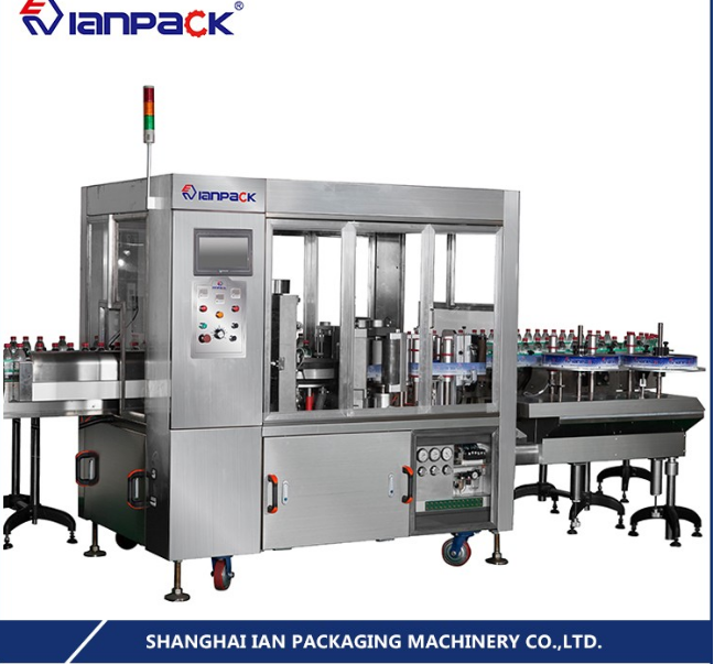 Fully Automatic OPP Hot Melt Glue Bottle Labeling Machine