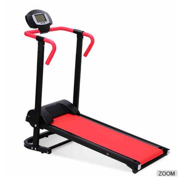 Multi-function Fitness LCD Display Mechanical Treadmill For Sale