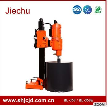 350mm BL-350 vertical engineering diamond core drill rig with core bits for hard rock for sale