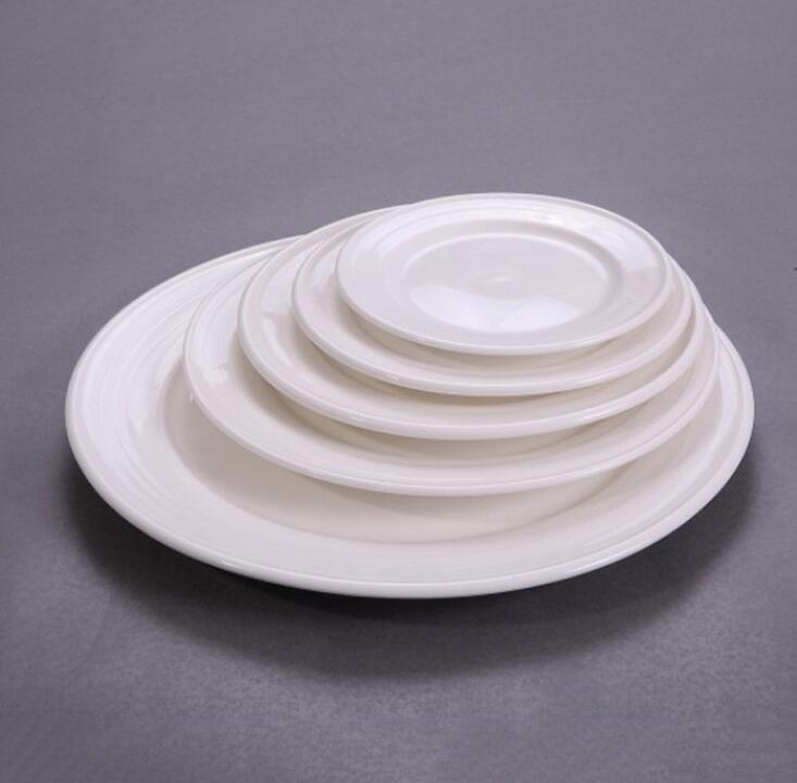 Ceramic dinner plate set