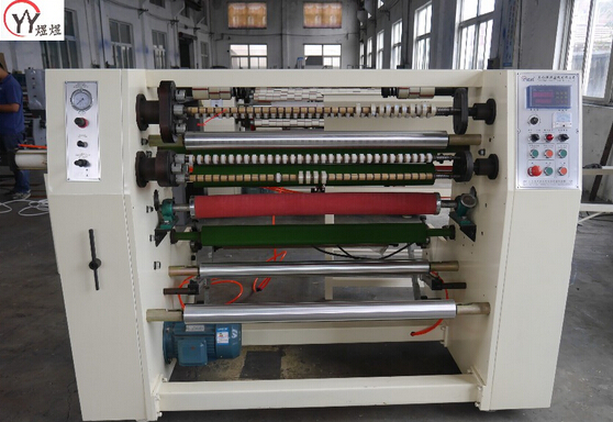 Stationery tape slitting machine