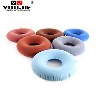 Chinese cheap nylon pvc donut round chair cushion