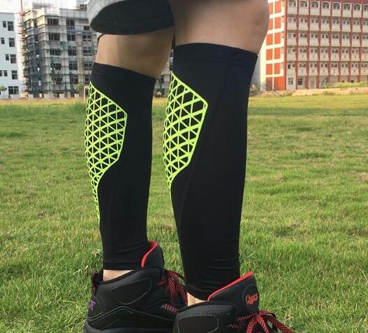 new style SHIWEI-HT003 calf compression sleeve nylon calf slimming in stock