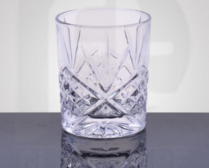 PFT Personalized hot sell whisky glass&whiskey tumbler beautiful pattern body whiskey glasses cup