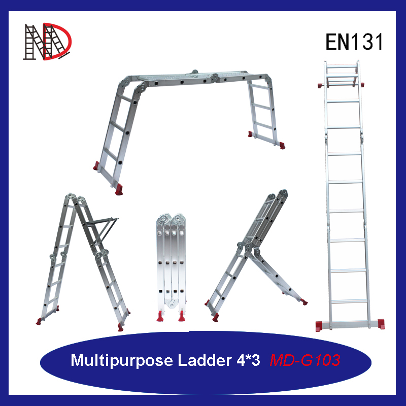 aluminium multipurpose folding step ladders