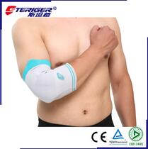 comfortable and elastic compression arm sleeves with silicone pad