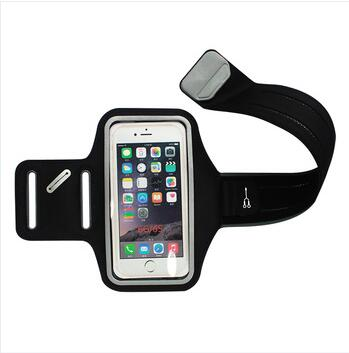Waterproof Clear Window Running Exercise Sport Stretch Armband For Blackberry