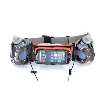 Hydration Running Belt with Water Bottles Fits for iPhone 6s plus Running,Race,Marathon,Hiking Unisex runner belt