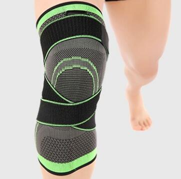 Custom pain relief pressurization elastic crossfit knee brace for athletes