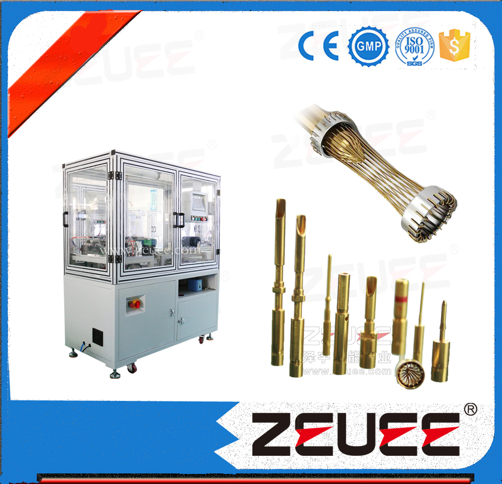 Automatic assembling machine for hyperboloid socket