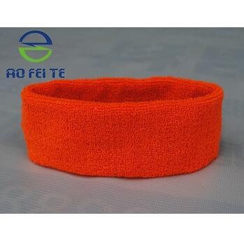 Hot Sale on Ebay Custom Sport Cotton Sweatband in High Quality