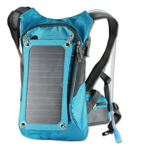 1.8L/7W solar power panel backpack