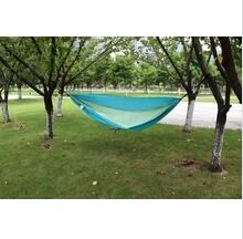 Portable Ultralight Nylon Parachute Double Hammock / nylon 210T light weight hammock